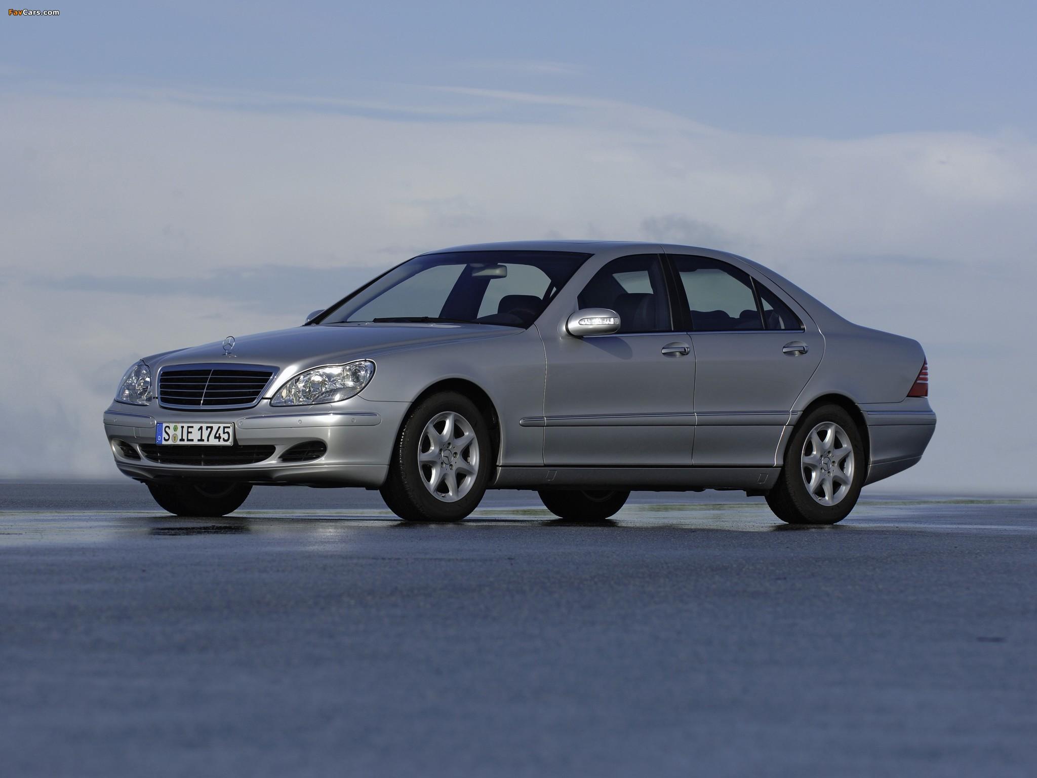 Photos of Mercedes-Benz S 280 (W220) 1998–2002 (2048 x 1536)