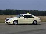 Photos of Mercedes-Benz S-Klasse Taxi (W220) 1998–2002