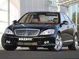 Photos of Brabus Mercedes-Benz S-Klasse (W221) 2005–09