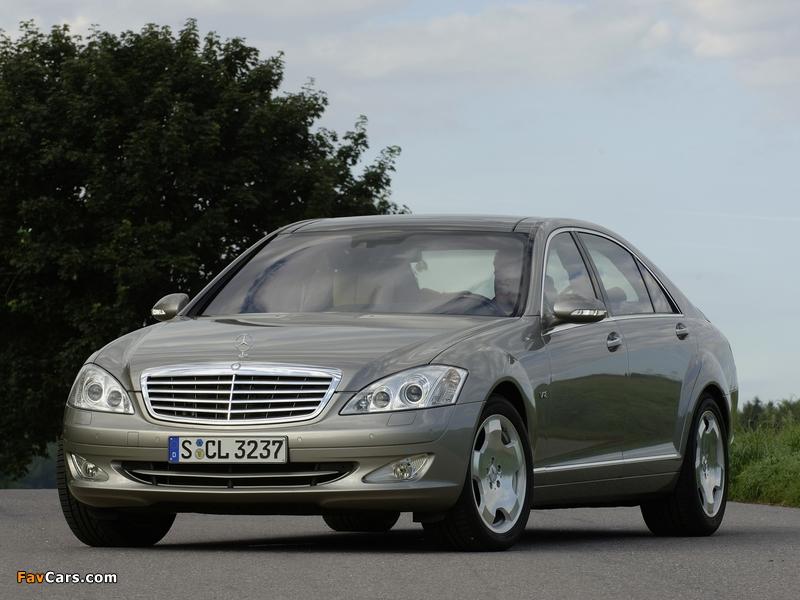 Photos of Mercedes-Benz S 600 (W221) 2005–09 (800 x 600)