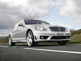 Photos of Mercedes-Benz S 63 AMG UK-spec (W221) 2006–09