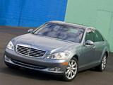 Photos of Mercedes-Benz S 550 (W221) 2006–09