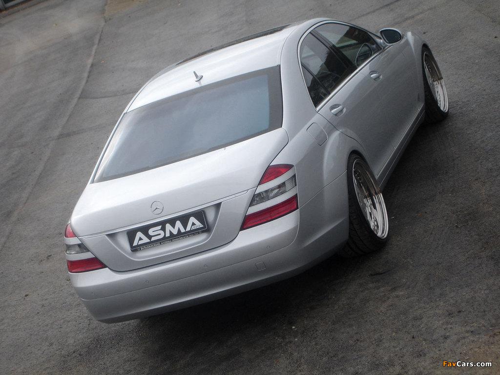 Photos of Asma Design S-Klasse (W221) 2006–09 (1024 x 768)