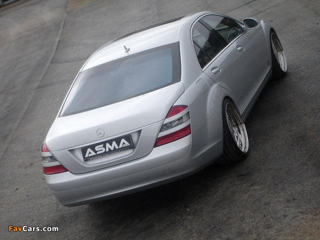 Photos of Asma Design S-Klasse (W221) 2006–09 (640 x 480)