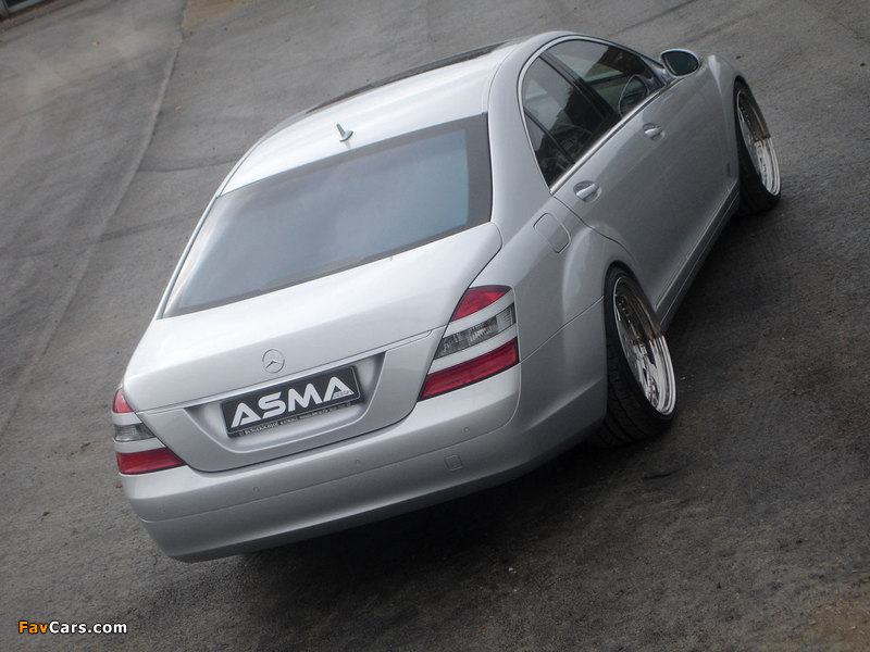 Photos of Asma Design S-Klasse (W221) 2006–09 (800 x 600)