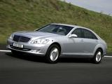 Photos of Mercedes-Benz S 600 Guard (W221) 2007–09