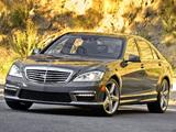 Photos of Mercedes-Benz S 63 AMG US-spec (W221) 2009–10
