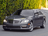 Photos of Mercedes-Benz S 63 AMG US-spec (W221) 2009–10