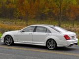 Photos of Mercedes-Benz S 65 AMG US-spec (W221) 2010–13