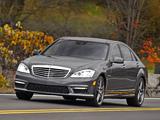 Photos of Mercedes-Benz S 63 AMG US-spec (W221) 2010–13