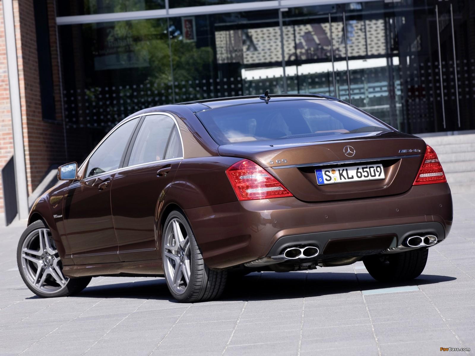 Photos of Mercedes-Benz S 65 AMG (W221) 2010–13 (1600 x 1200)