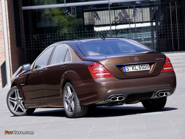 Photos of Mercedes-Benz S 65 AMG (W221) 2010–13 (640 x 480)