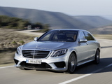 Photos of Mercedes-Benz S 63 AMG (W222) 2013