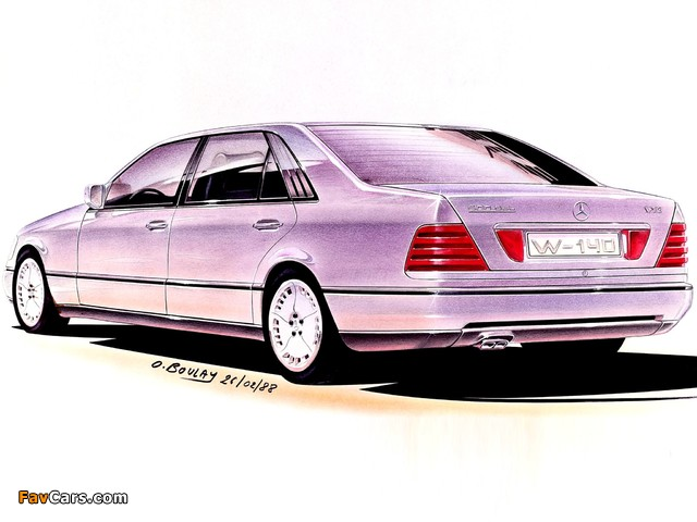 Photos of Mercedes-Benz S-Klasse, 1988 (640 x 480)