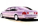 Photos of Mercedes-Benz S-Klasse, 1988