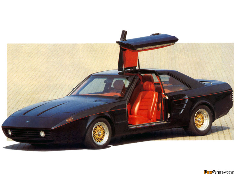 Pictures of SGS Arrow Gullwing Mercedes-Benz 500 SEC (C126) (800 x 600)