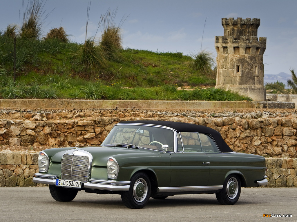 Pictures of Mercedes-Benz 220 SE Cabriolet (W111) 1961–65 (1024 x 768)
