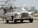 Pictures of Mercedes-Benz 220 SE Cabriolet US-spec (W111) 1961–65