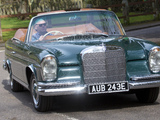 Pictures of Mercedes-Benz 300 SE Cabriolet UK-spec (W112) 1962–67