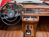 Pictures of Mercedes-Benz 280 SE 3.5 Cabriolet US-spec (W111) 1969–71