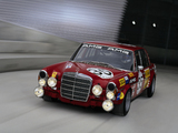 Pictures of AMG 300SEL 6.3 Race Car (W109) 1971
