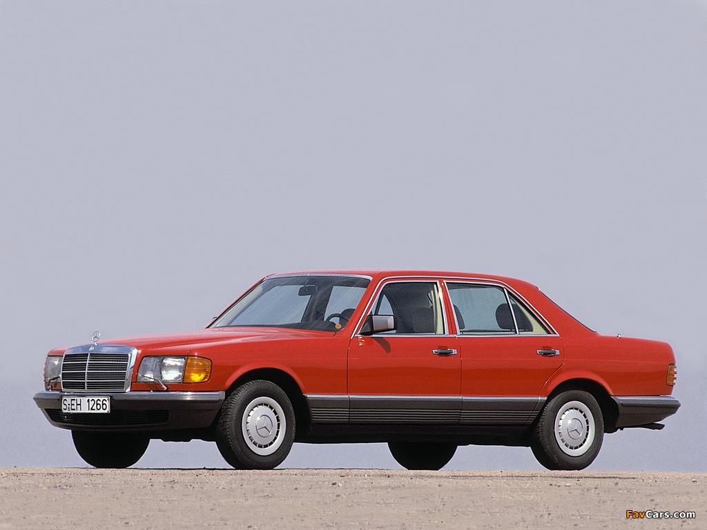 Pictures of Mercedes-Benz S-Klasse (W126) 1979–91 (1024 x 768)