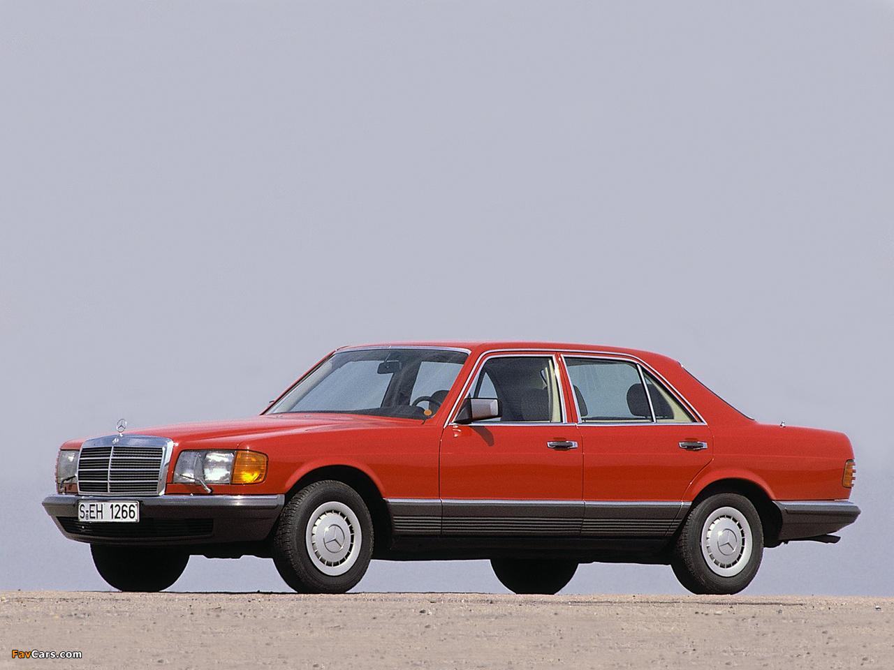 Pictures of Mercedes-Benz S-Klasse (W126) 1979–91 (1280 x 960)