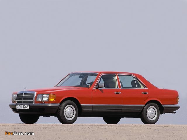 Pictures of Mercedes-Benz S-Klasse (W126) 1979–91 (640 x 480)