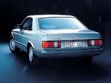 Pictures of Mercedes-Benz 500 SEC (C126) 1981–91