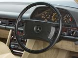 Pictures of Mercedes-Benz 380 SEC UK-spec (C126) 1981–85