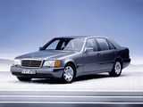 Pictures of Mercedes-Benz 500 SEL (W140) 1991–93
