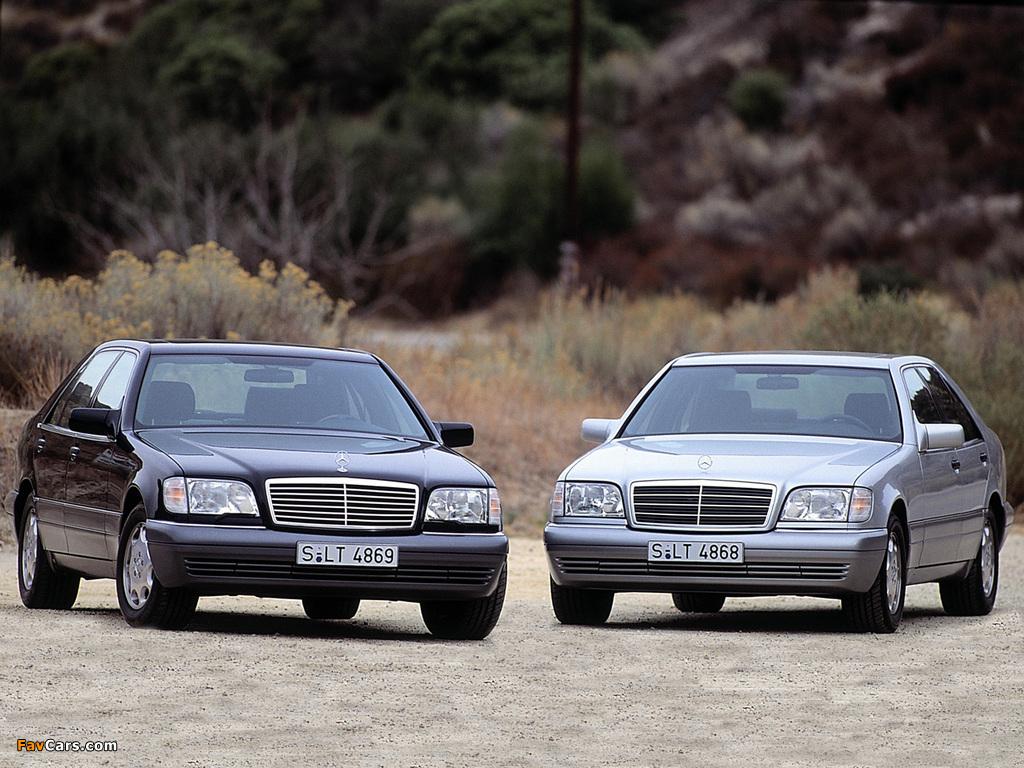 Pictures of Mercedes-Benz S-Klasse (W140) 1991–98 (1024 x 768)