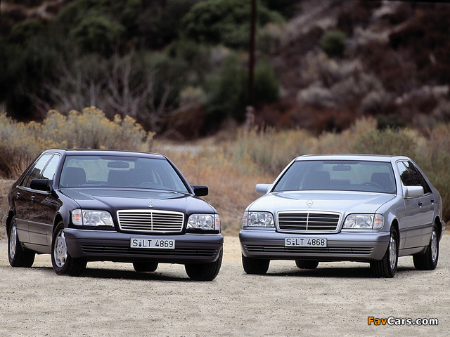 Pictures of Mercedes-Benz S-Klasse (W140) 1991–98 (640 x 480)