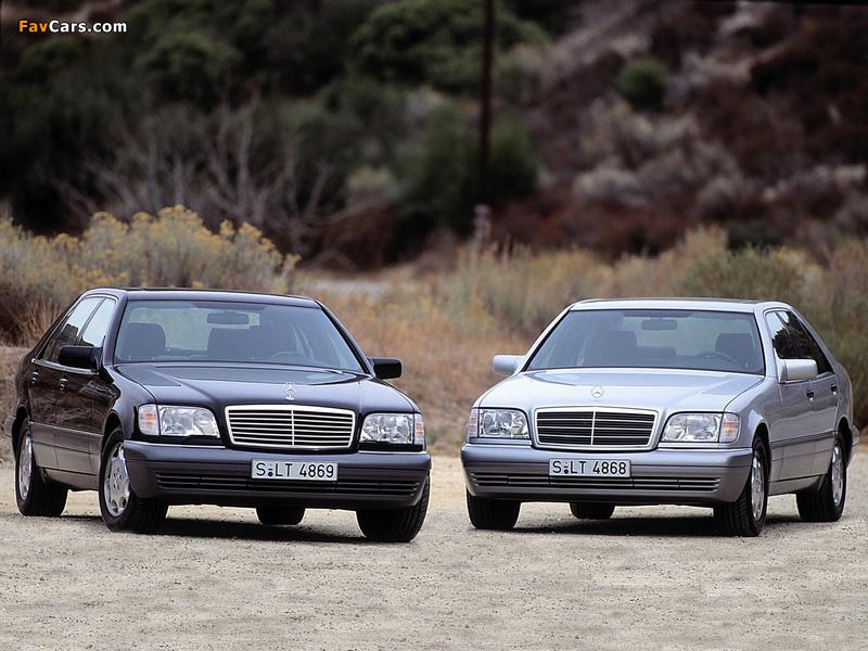 Pictures of Mercedes-Benz S-Klasse (W140) 1991–98 (800 x 600)