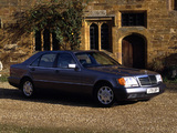 Pictures of Mercedes-Benz 600 SEL UK-spec (W140) 1991–92