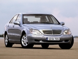 Pictures of Mercedes-Benz S 500 (W220) 1998–2002
