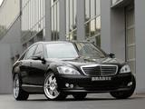 Pictures of Brabus Mercedes-Benz S-Klasse (W221) 2005–09