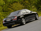 Pictures of Mercedes-Benz S 550 (W221) 2006–09