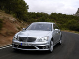 Pictures of Mercedes-Benz S 63 AMG (W221) 2006–09