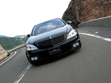 Pictures of WALD Mercedes-Benz S 63 AMG (W221) 2006–09