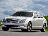Pictures of Mercedes-Benz S 400 Hybrid US-spec (W221) 2009–13
