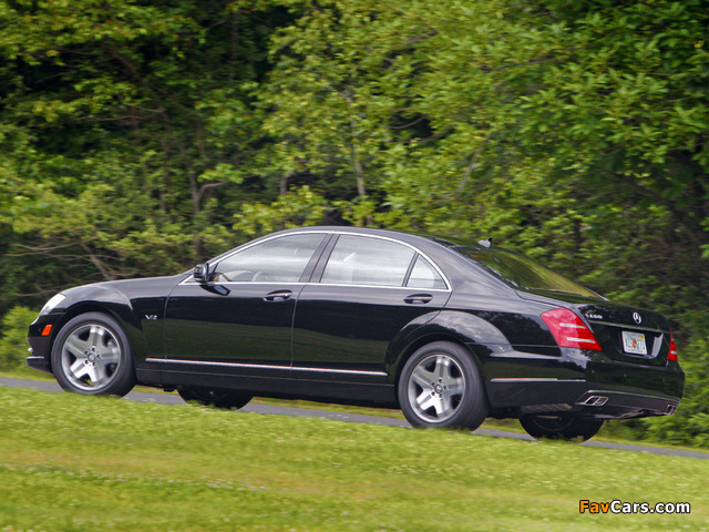 Pictures of Mercedes-Benz S 600 US-spec (W221) 2009–13 (640 x 480)
