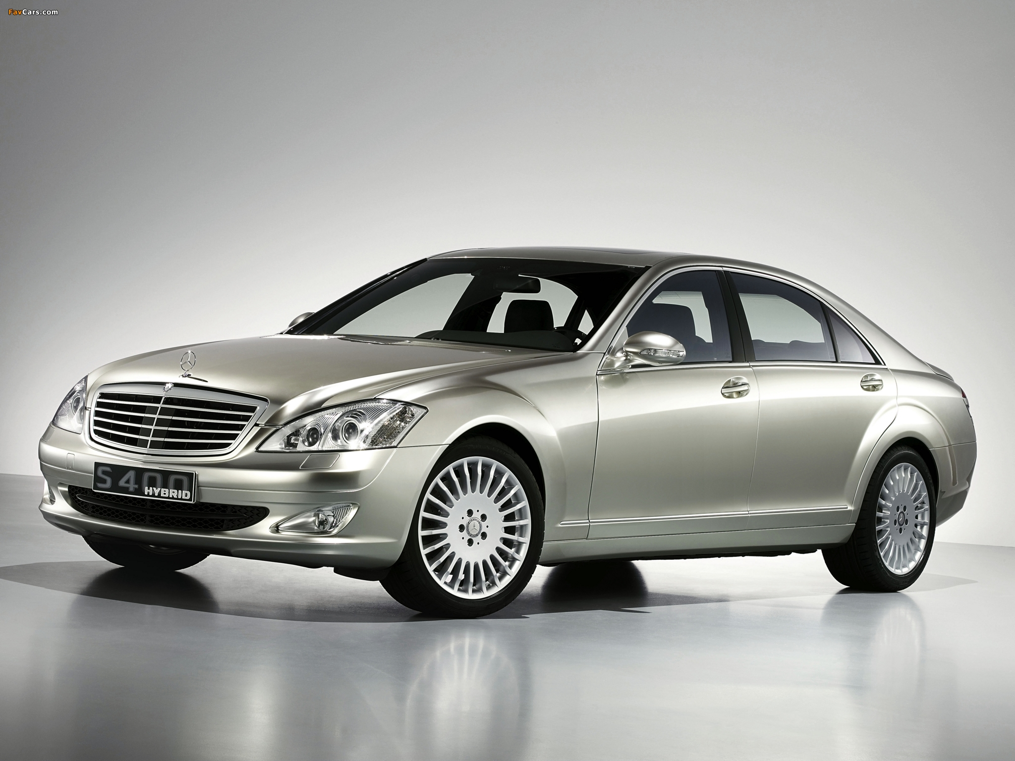 Pictures of Mercedes-Benz S 400 Hybrid Concept (W221) 2009 (2048 x 1536)