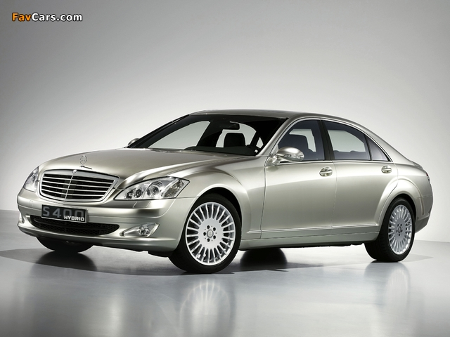 Pictures of Mercedes-Benz S 400 Hybrid Concept (W221) 2009 (640 x 480)