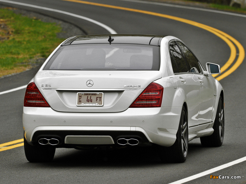 Pictures of Mercedes-Benz S 65 AMG US-spec (W221) 2010–13 (800 x 600)