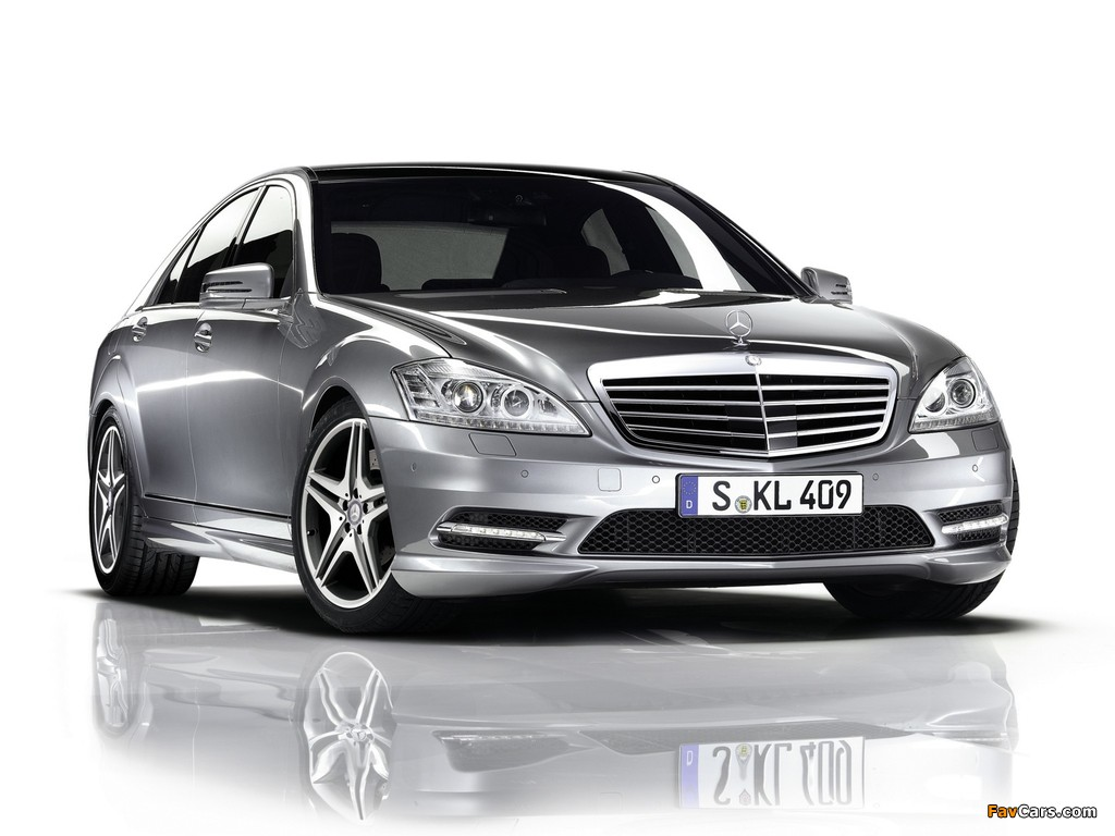 Pictures of Mercedes-Benz S 350 BlueEfficiency AMG Sports Package (W221) 2010–13 (1024 x 768)