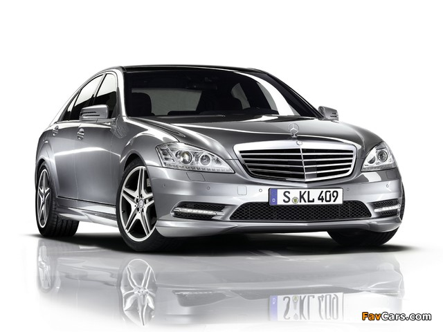 Pictures of Mercedes-Benz S 350 BlueEfficiency AMG Sports Package (W221) 2010–13 (640 x 480)