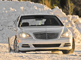 Pictures of Mercedes-Benz S 350 BlueTec 4MATIC US-spec (W221) 2010–13