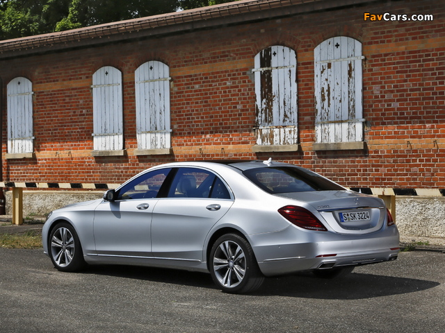 Pictures of Mercedes-Benz S 500 (W222) 2013 (640 x 480)