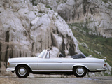 Pictures of Mercedes-Benz S-Klasse Cabriolet (W111/112)